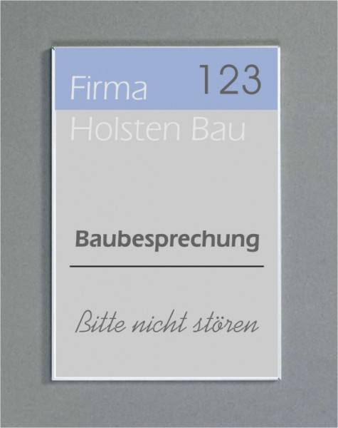 Wandschild | System Karlsruhe | Frei / Besetzt