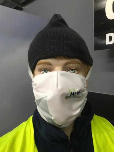 Mundmaske | mit Kopfgummi und Nackenband | individuell bedruckt