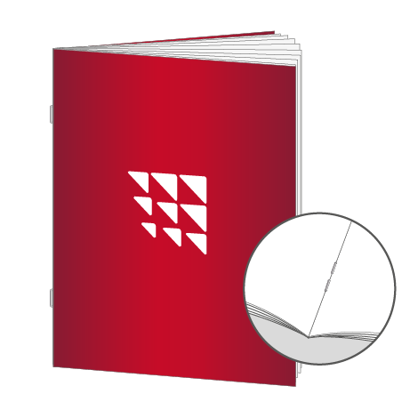 Broschüren Drahtheftung DIN A4