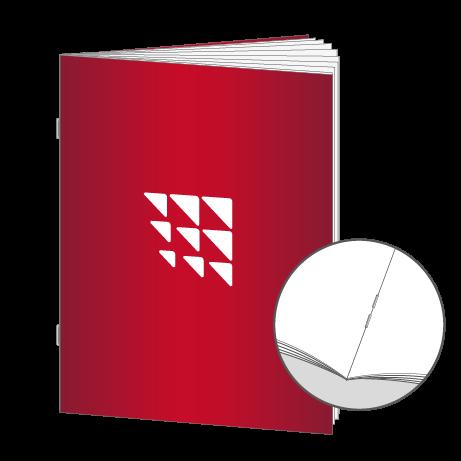 Broschüren Drahtheftung DIN A7