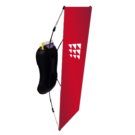 Promotion Rucksack - X-Banner